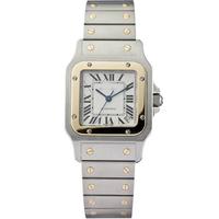 SANTOS series W20099C4 luxury brand couple quartz watch