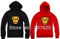 Free shipping 2013 new sale Autumn thickening b a p. E sweatshirt monkey face printed casual loose pullover hoodie 8 Color