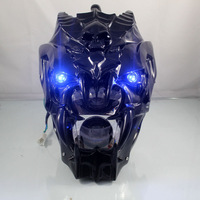 motorcycle Skull headlights monster headlights