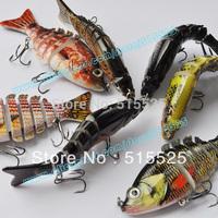 2014 new lure 5pcs/lot Fishing Lure Crankbait Hard Bait hard lure mix color Free shipping