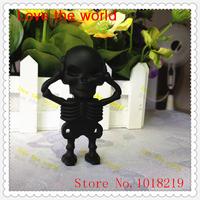 Wholesale Pen DriveCharacter Usb Flash Drive Pendrive  skull 4GB 8GB 16GB 32GB  Free Shipping