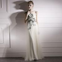Creative fox chinese style vintage elegant oblique evening dress formal dress evening dress 80939