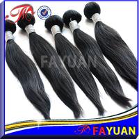 Fayuan hair:Top grade 6a best quality coarse yaki cambodian virgin kinky straight human hair 1b queen weave beauty hair weft