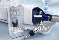 5pcs/Lot ! Free Shipping . Newest stylish 2014 year  novelty  christmas tree wine stopper christmas giving away gifts