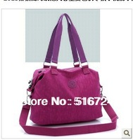 2013 qiu dong new female bag large capacity washing waterproof nylon bag hand shoulder Messenger Bag