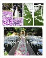 Free Shipping 2000pcs/Lot Pink Silk Rose Flower Petals Leaves Wedding  Decorations Flower Petals For Wedding