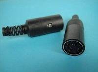 5Kpcs x 5 Pin Female DIN Plug Adapter Cable Mount Solder 5DF