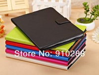 NEW airrive  wallet card packet    fashion PU  leather case COVER stand for Apple IPAD5  air  5gen