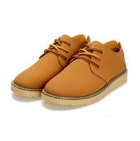 Fashion nubuck leather skateboarding shoes for men EU 38-44 from manufacturer