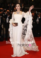ELE-025 2013 Crazy Hot!! Sexy White Fanbingbing Floor Length Elie Saab Evening Dresses For Sale