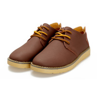 Retail - best quality genuine leather men's shoes EU 38-44 by factory - free shipping