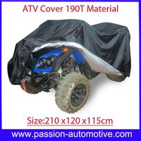Quad bike ATV cover PU WaterProof Fits for Honda Suzuki Polaris Size 210x120x115cm