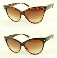 Cat eye model Vintage retro sunglasses brand designer women sun glasses 2013 new Hot selling