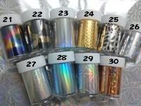 Free shipping 120*4cm (16pcs/lot 16designs) 2013 Nail supplies nail art Transfer foil sticker decoration