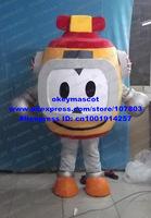Yellow Robot Intelligent Machine Mascot Costume Fancy Dress Cartoon Character No.2958 Free Shipping