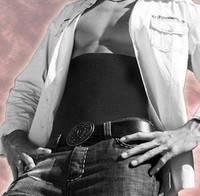 Free Shipping Men's Inner Muscle Belt Men's Slimming belt Waist Massage Shaper