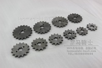 Horizontal engine chainlet plate 10 - 19 sprocket 420 pinier 17m off-road motorcycle
