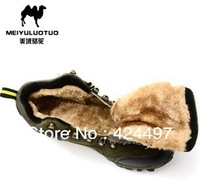 New style Authentic hiking shoes,Add wool to keep warm in winterAdd wool to keep warm in winter