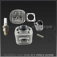 High Quality New 50cc 60cc 66cc 80CC 2-Stroke Motorized Gas Motor Engine Head Kit For Bicycle Bike