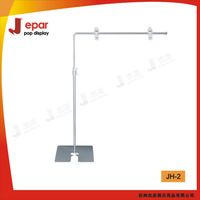 adjustable  sign holder pop display stand metal stand