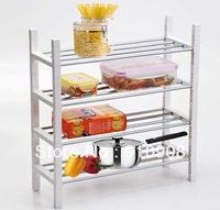 4 Layer Kitchen Shelves Storage Rack Shoes Rack Tableware Rack