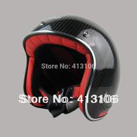 Free shipping/Motorcycle helmet/Jet helmet/carton material /Vintage helmet/Open face retro 3/4 half helme/tanked-racing helmet