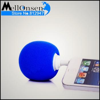 Portable Mini Ball Speaker ,mini mobile speaker Tiny portable mobile phone speaker ,sponge ball speaker