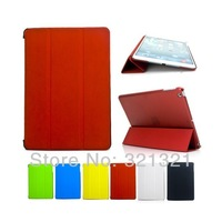 DHL FREE (50pcs/lot) Smart PU Leather Case Cover Stand Holder for iPad 5 iPad Air Tablet PC Fine Quality Free Shipping