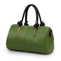 Bag 2013 three-dimensional shaping bag bags casual bag drum color block handbag women's tieclasps