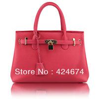 Bag vintage handbag lock bags women's handbag messenger bag