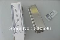 Free shipping 10pcs/lots Nano SIM Card Cutter For iPhone 5 5S 5C with 3pcs nano sim card adapter+Eject Pin