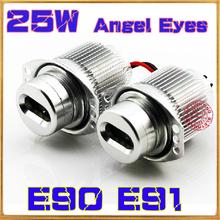 High power CREE chips 25W LED Marker Angel Eye for BMW E90 E91 White Light Lamp