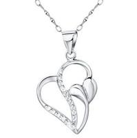 Korean Fashion jewelry,925 Sterling Silver necklace Pendants,wholesale,SP0015