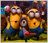 Naughty yellow kid /Minions dirt-resistant silicon case for iphone5 5G~5pcs/lot
