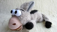 Laugh rolling ass  Electric plush toys Children's toys