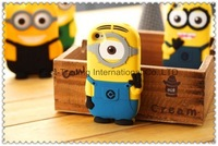 Naughty yellow kid /Minions dirt-resistant silicon case for iphone5 5G~20pcs/lot