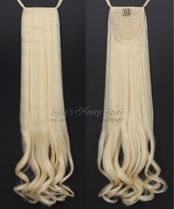 Missuhair 24 110g 613# P001-A04 sr 1 ponytails130g 24 60 mutlicolor p001