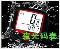 20912L new hot sales TECHKIN waterproof luminous code table Bike mountain bike code table odometer tester Speedometer Waterproof