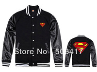Free shipping mens Superman winter jacket 4 styles