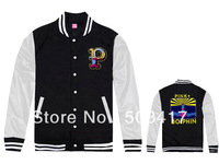 2013 new style mens Pink Dolphin jacket & coat top quality thick winter clothing sports baseball jacket 20 styles