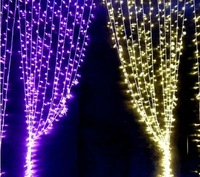 2 m X 2.5 m LED String Lights New Year Holiday light ,Christmas Decoration Fairy Wedding string Light 220v