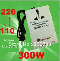 Free shipping 220V to 110V transformer  two-way power electricity converter AC adaptor tansformer 110/220 300W
