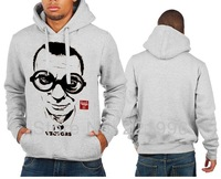 Free Shipping  I LOVE VECTORS Printed Pullover Hoodie Boys Mens