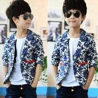 (5 pieces/lot) wholesale  baby boys clothing outerwear autumn child blazer boy's casual blazers children's suits