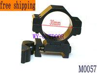 "Flat top weaver Hunting QD Quick Release 30mm/25.4mm 1"" mount fits 20mm Rail Scope Mount M0057"