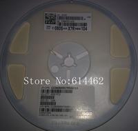 Free Shipping 1000PCS NEW SMD Ceramic Capacitor 100NF 50V 10% X7R 0805 0.1UF 50V 0805 104 50V