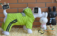 FREE SHIPPING! Triol pet dog clothing clothes clothing clip goatswool 18 wadded jacket