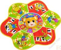 Russian Musical Flower Baby Play Mat Baby Developmental Crawling Mat Carpets for Kids