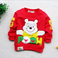 2013 hot selling high quality Baby spring & autumn sweatershirts round collar boys cartoon hoodies kids sweater baby clothing