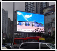 Electronic LED Advertising Display Board outdoor full color led screen 	 1.024m x 1.024m p16 led advertising